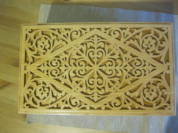 Decorative Wooden Box 6mm Free CDR Vectors Art
