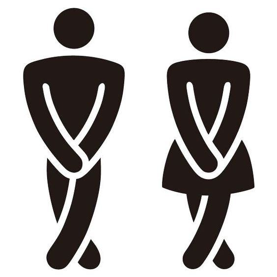 Laser Cut Engrave Wc Sign Men Women Toilet Sign Free CDR Vectors Art