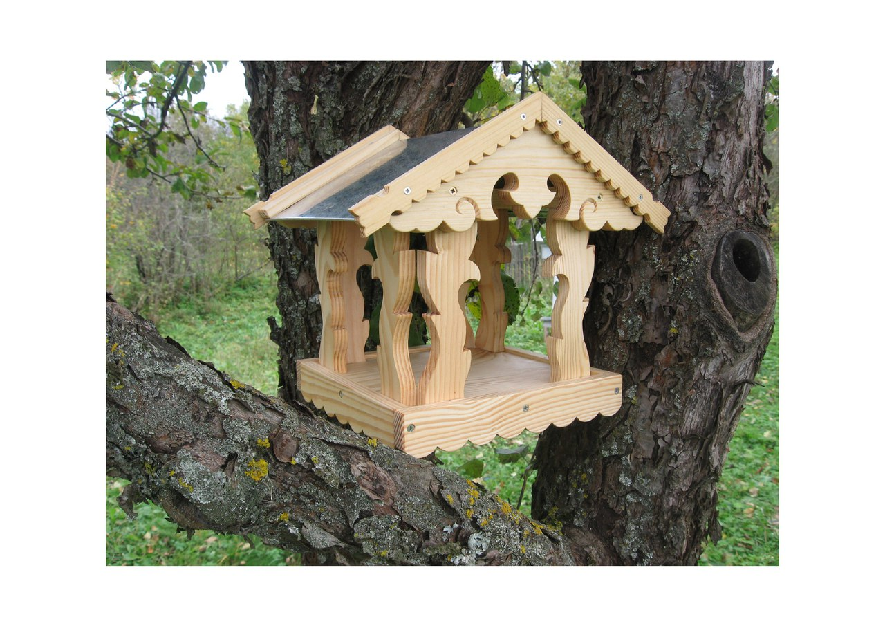 Laser Cut Bird Feeder Free DXF File