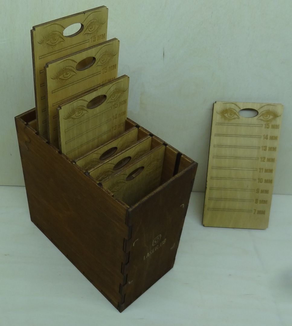 Laser Cut Wooden Box For Boards Free CDR Vectors Art