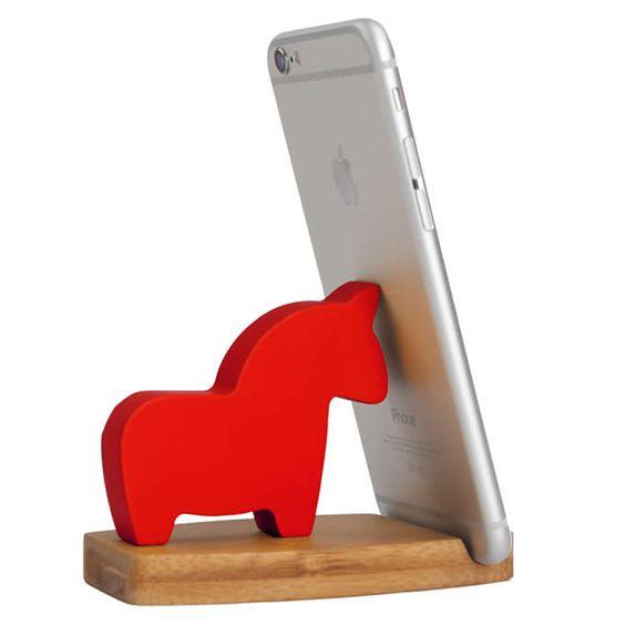 Laser Cut Horse Phone Stand Free CDR Vectors Art