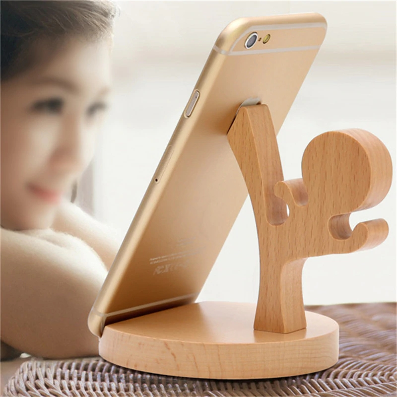 Laser Cut Wooden Ninja Phone Stand Free CDR Vectors Art