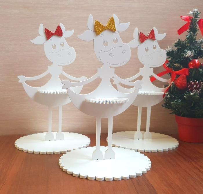 Laser Cut Napkin Holder Christmas Table Decorations Free CDR Vectors Art