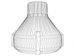 3d Illusion Led Lamp Laser Engraving Machines Free DXF File