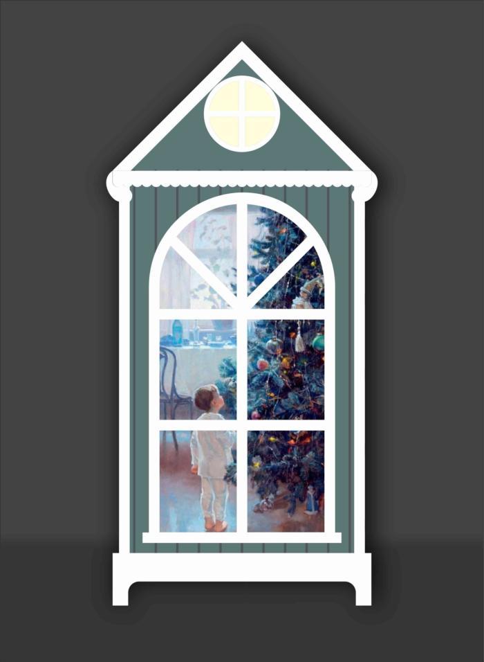 Night Light Plywood 3mm Free CDR Vectors Art