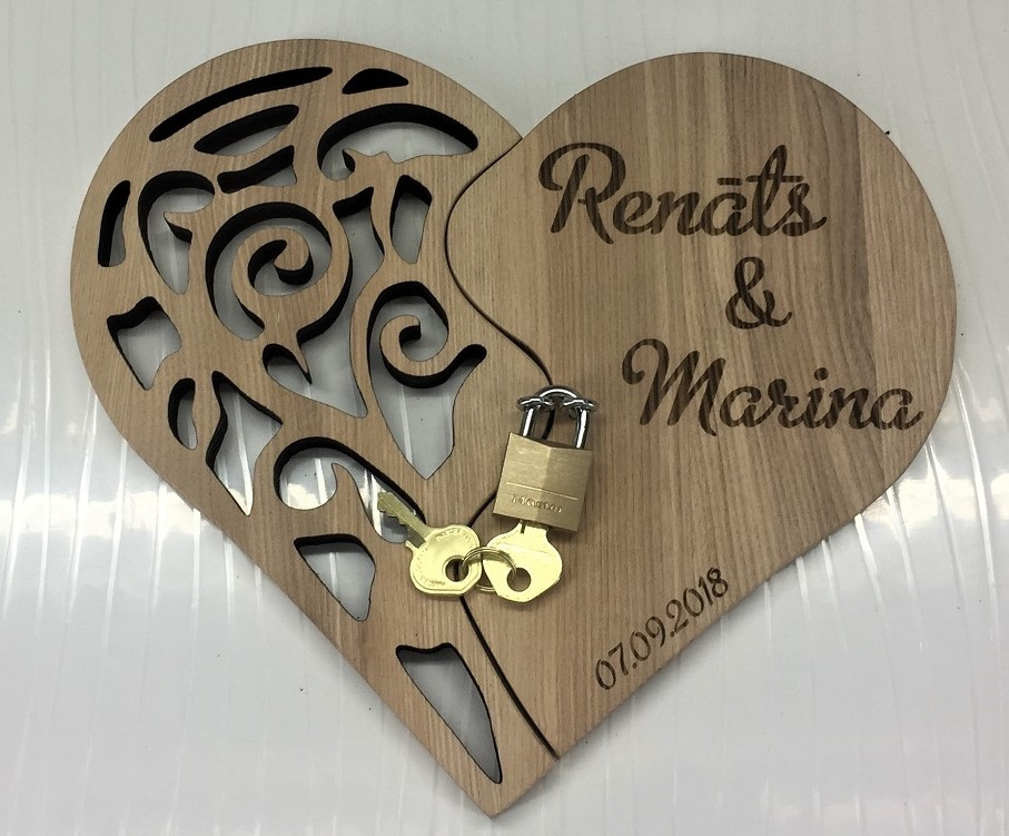 Laser Cutting Router Plan Heart Free CDR Vectors Art