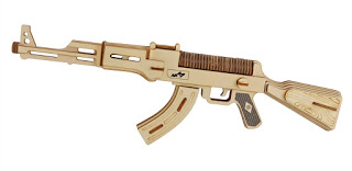 Funny Laser Cutting Project 2020 ak-47 Weapon Free CDR Vectors Art