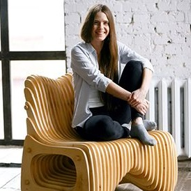 Laser Cut  Wooden Chair Parametric Beautiful Free DXF File