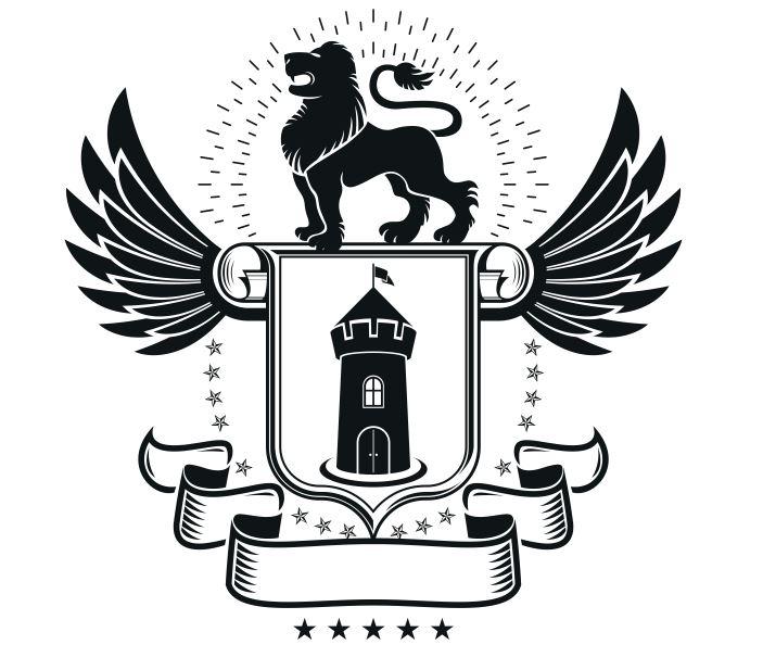 Emblem Design Logo Free CDR Vectors Art