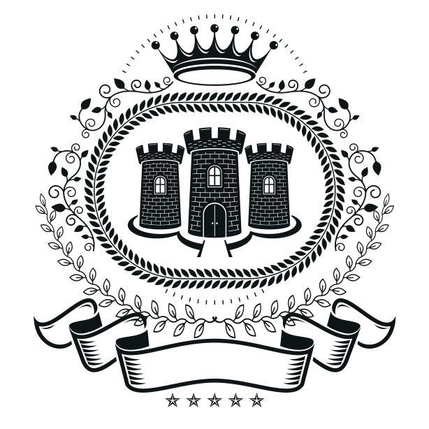 Estate Emblem Logo Badge Free CDR Vectors Art