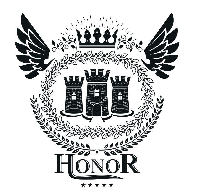 Honor Emblem Logo Badge Free CDR Vectors Art