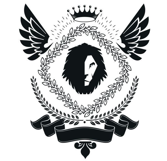 Power Emblem Design Badge Free CDR Vectors Art