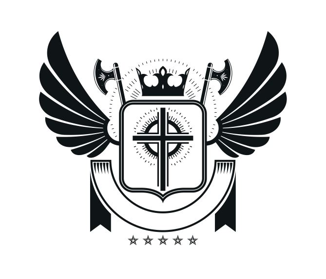 Stars Emblem Logo Badge Design Free CDR Vectors Art