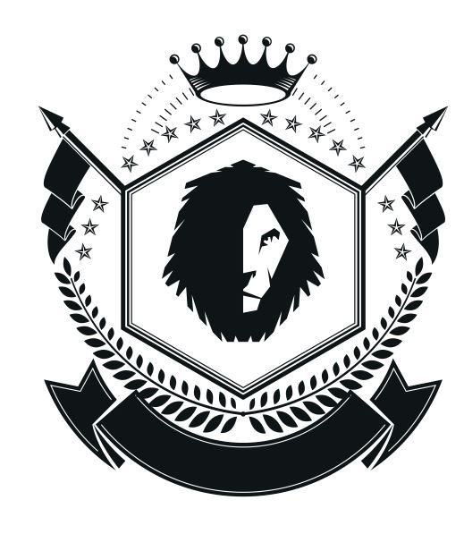 States Emblem Badge Free CDR Vectors Art