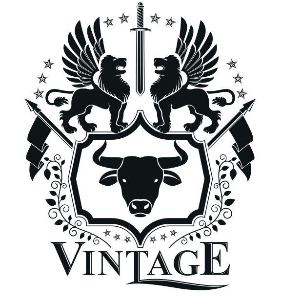 Vintage Emblem Design Logo Badge Free CDR Vectors Art