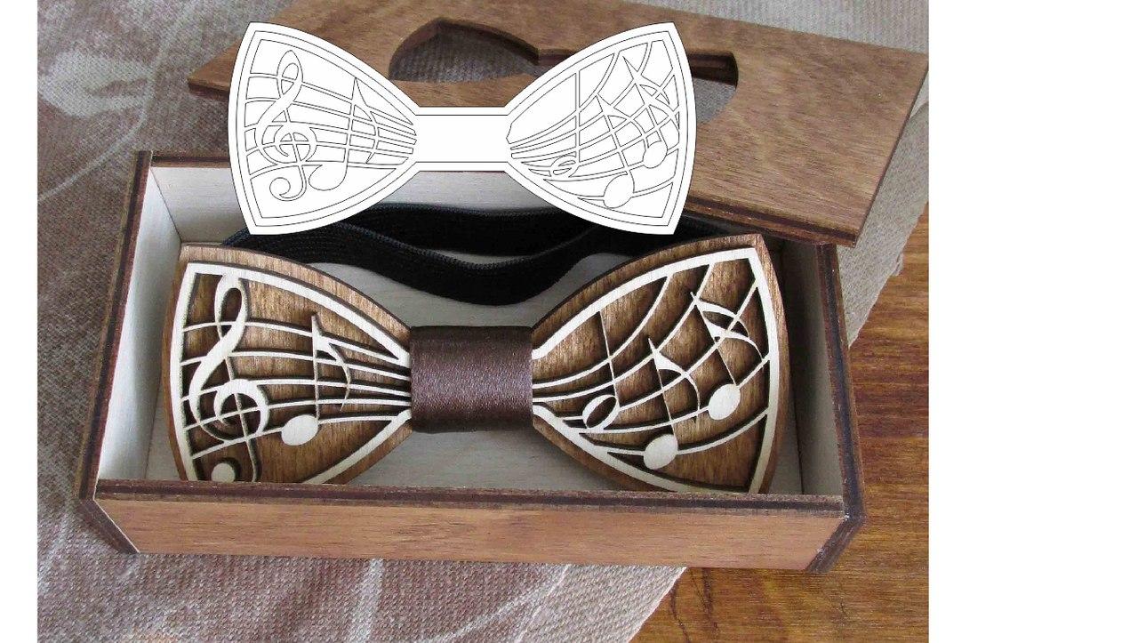 Laser Cut Bow Box Free CDR Vectors Art
