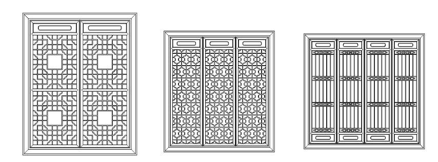 Pattern Screen Panel 1555 Free CDR Vectors Art