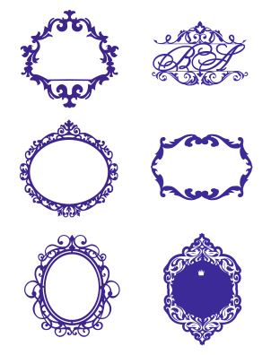 Wall Decal Vinyl Frame Decal Sticker Personalized Free CDR Vectors Art