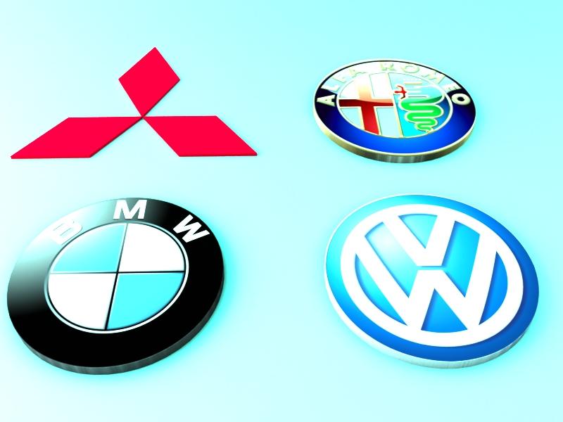 Logo Cars 2 Free DXF File