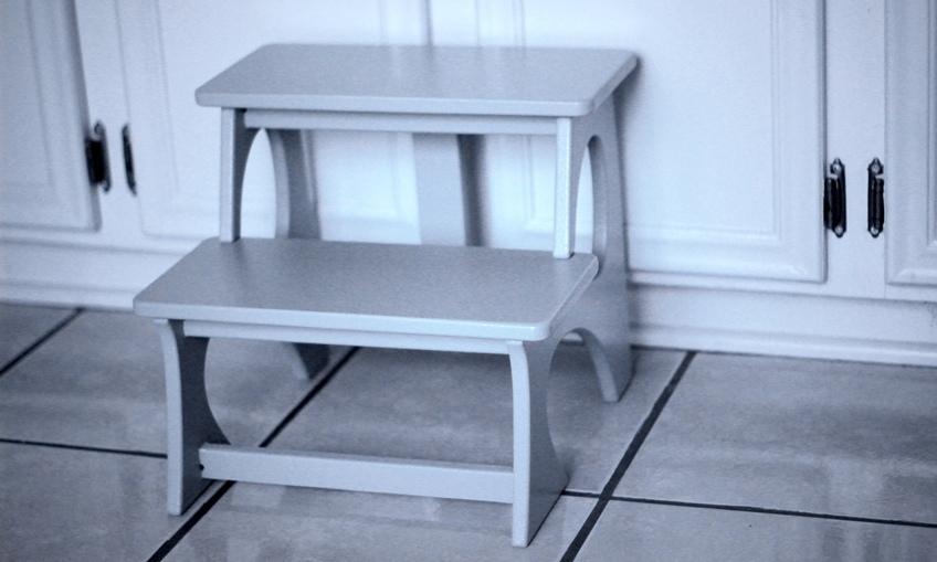 Laser Cut Ladder Chair For Children Layout Free CDR Vectors Art