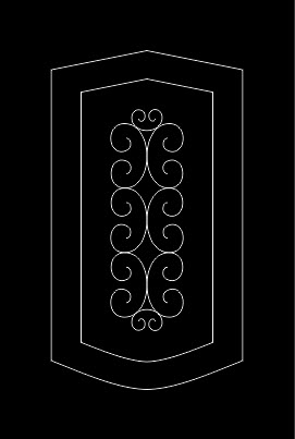 Kitchen Cabinet 26 Free DXF File
