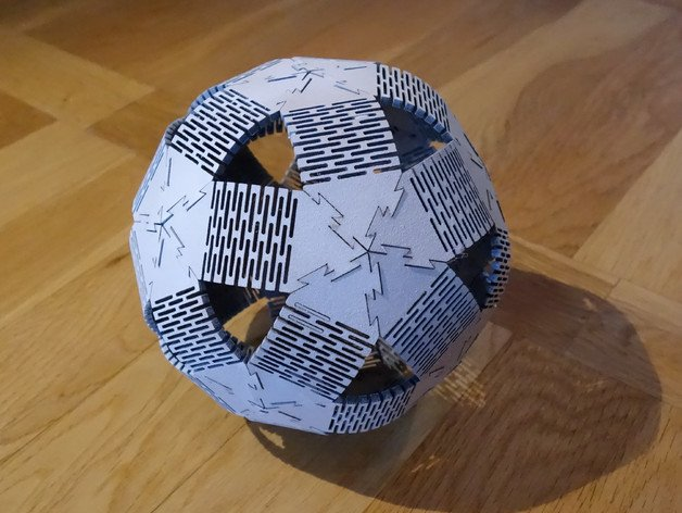 Plywood Dodeca Ball Free DXF File
