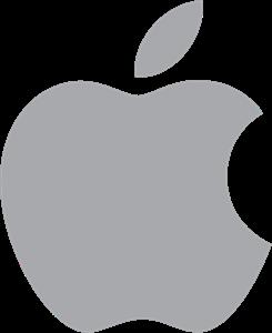 Apple Logo Vector Free AI File
