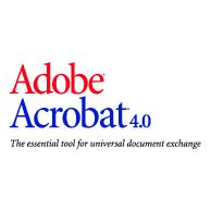 Adobe Acrobat 4.0 Logo EPS Vector