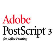 Adobe Postscript 3 Office Logo EPS Vector