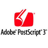 Adobe Postscript 3 Red Logo EPS Vector