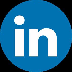 Linkedin Icon Logo Vector Free AI File