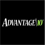 Advantage 10 Logo EPS Vector