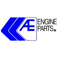 Ae Engine Parts Logo EPS Vector