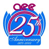Aee 25th Anniversary Logo EPS Vector