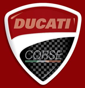 Ducati Corse Logo Vector Free AI File