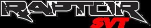 Ford Raptor Logo Vector Free AI File