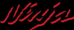 Ninja Kawasaki Old Style Logo Vector Free AI File