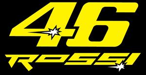 Rossi 46 Logo Vector Free AI File