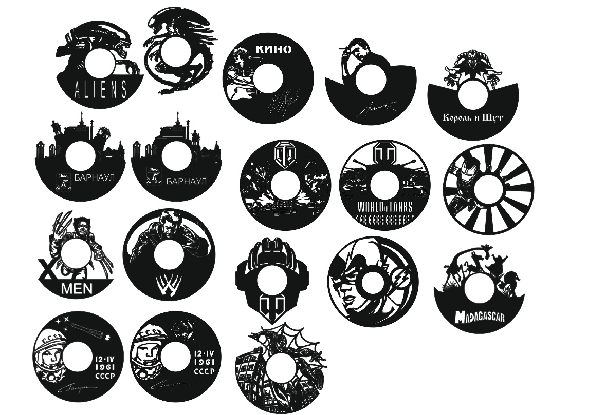 Clocks Collection Free CDR Vectors Art