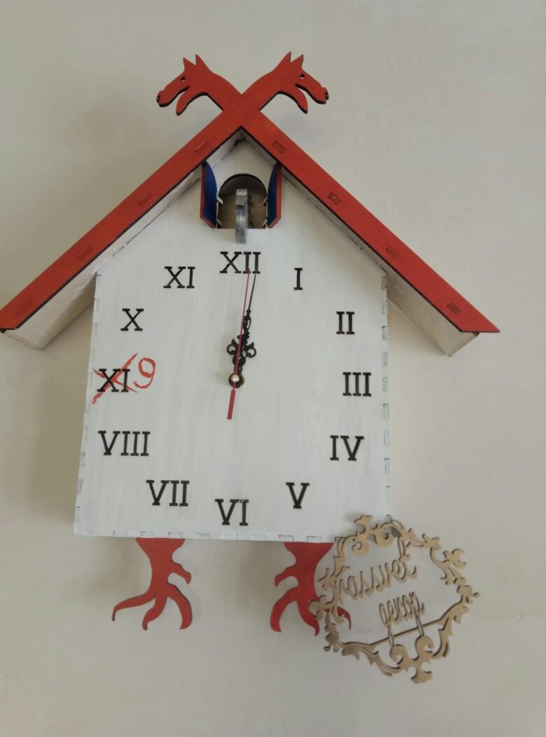 Cuckoo Clock Free CDR Vectors Art