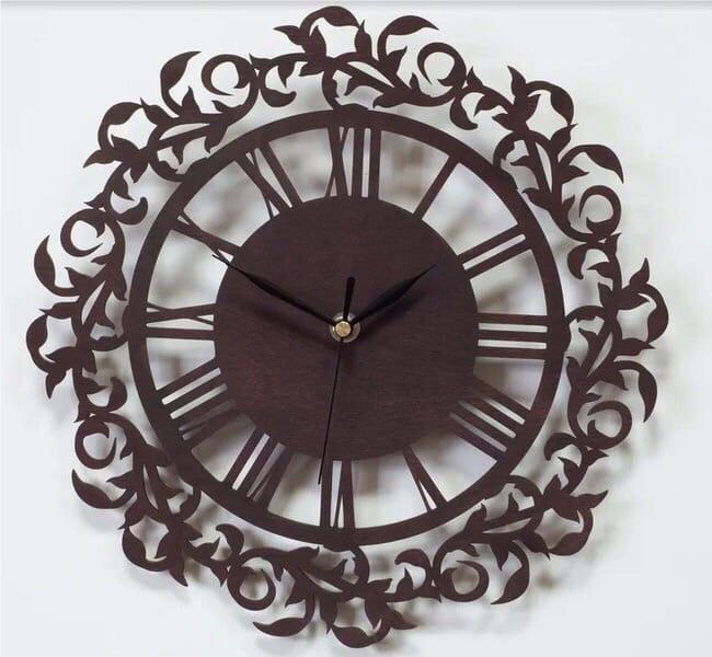 Decor Ornament Clock Free CDR Vectors Art