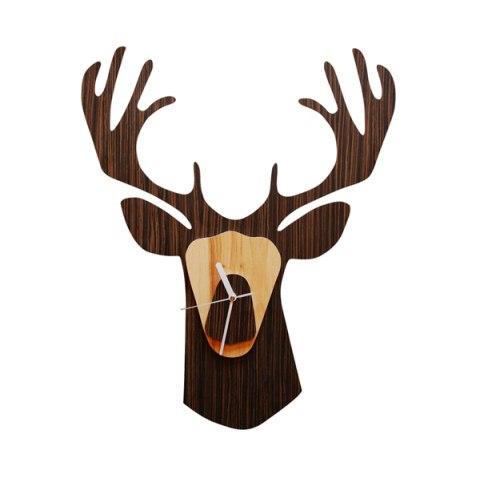 Elk Zoo Clock Free CDR Vectors Art