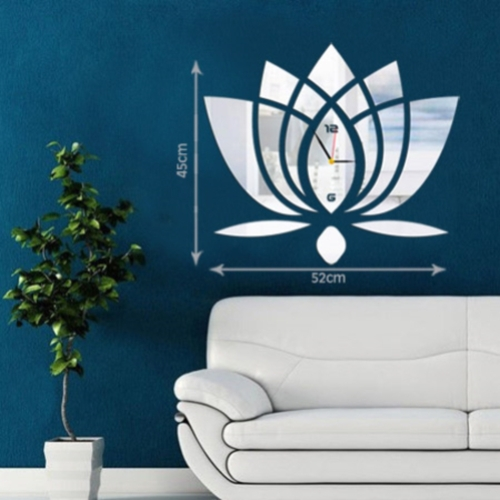 Lotus Wall Clock Free CDR Vectors Art