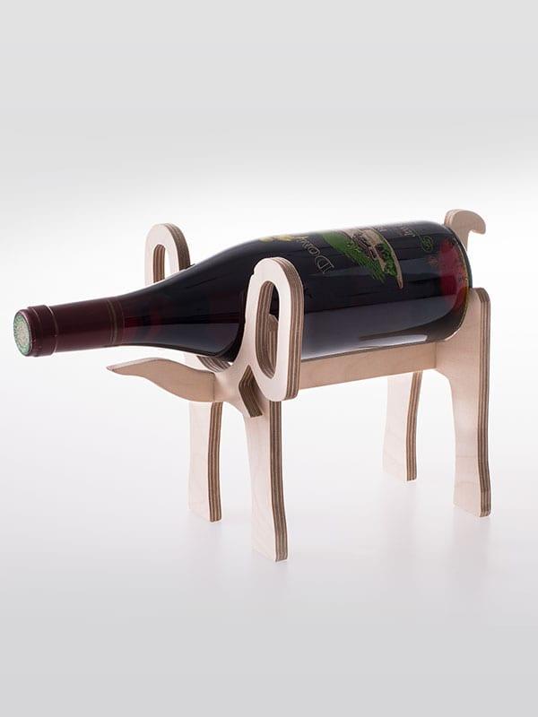 Laser Cut Elephant Wine Holder 10mm Free PDF File