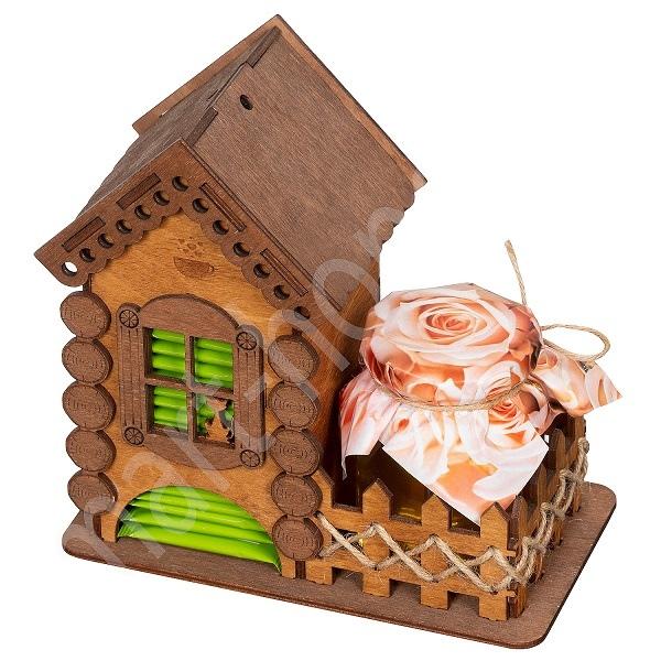 Laser Cut Tea House Tea Holder Box Tea Bag Dispense Free PDF File