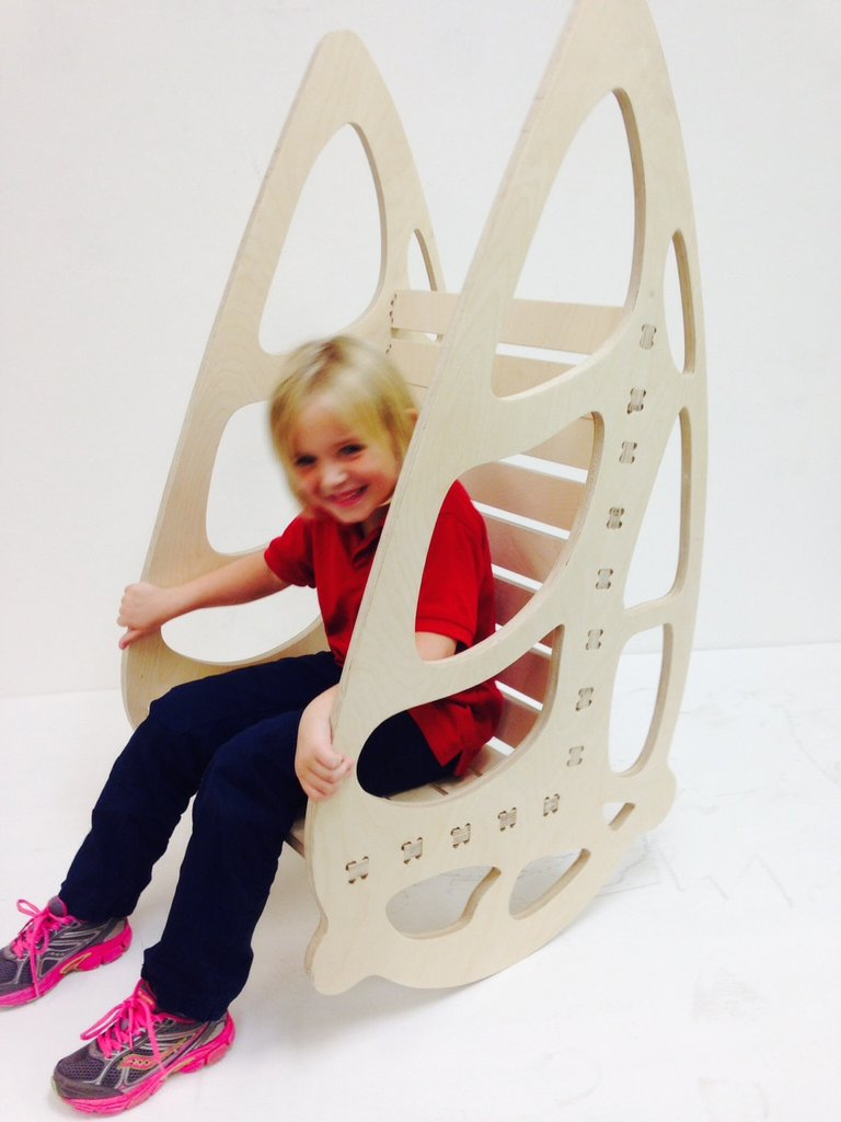 Buterfly Chair Laser Cut Cnc Plans Free PDF File