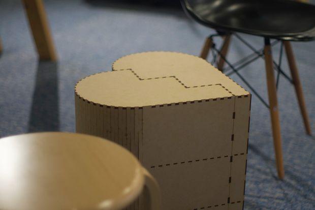 Heart Shape High Chair Free PDF File
