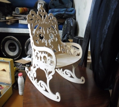 Laser Cutting Chair Free PDF File