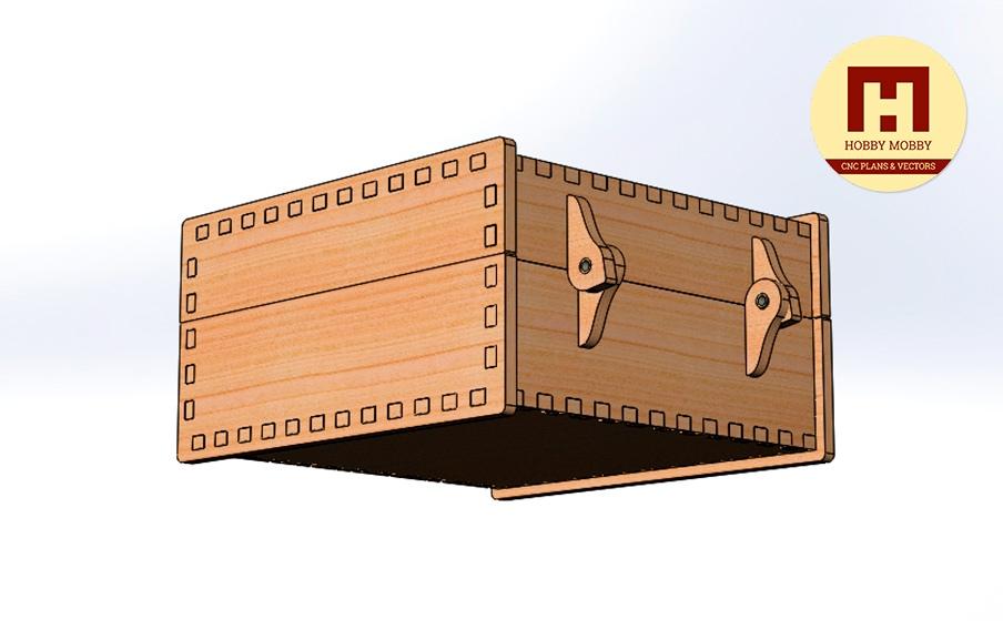 Box 120x120x60 Free CDR Vectors Art