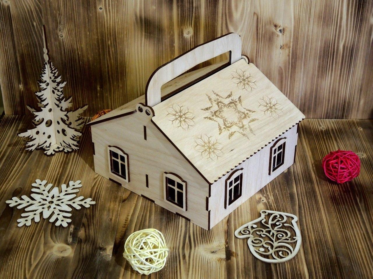 Candy Box Hut Basket Free CDR Vectors Art
